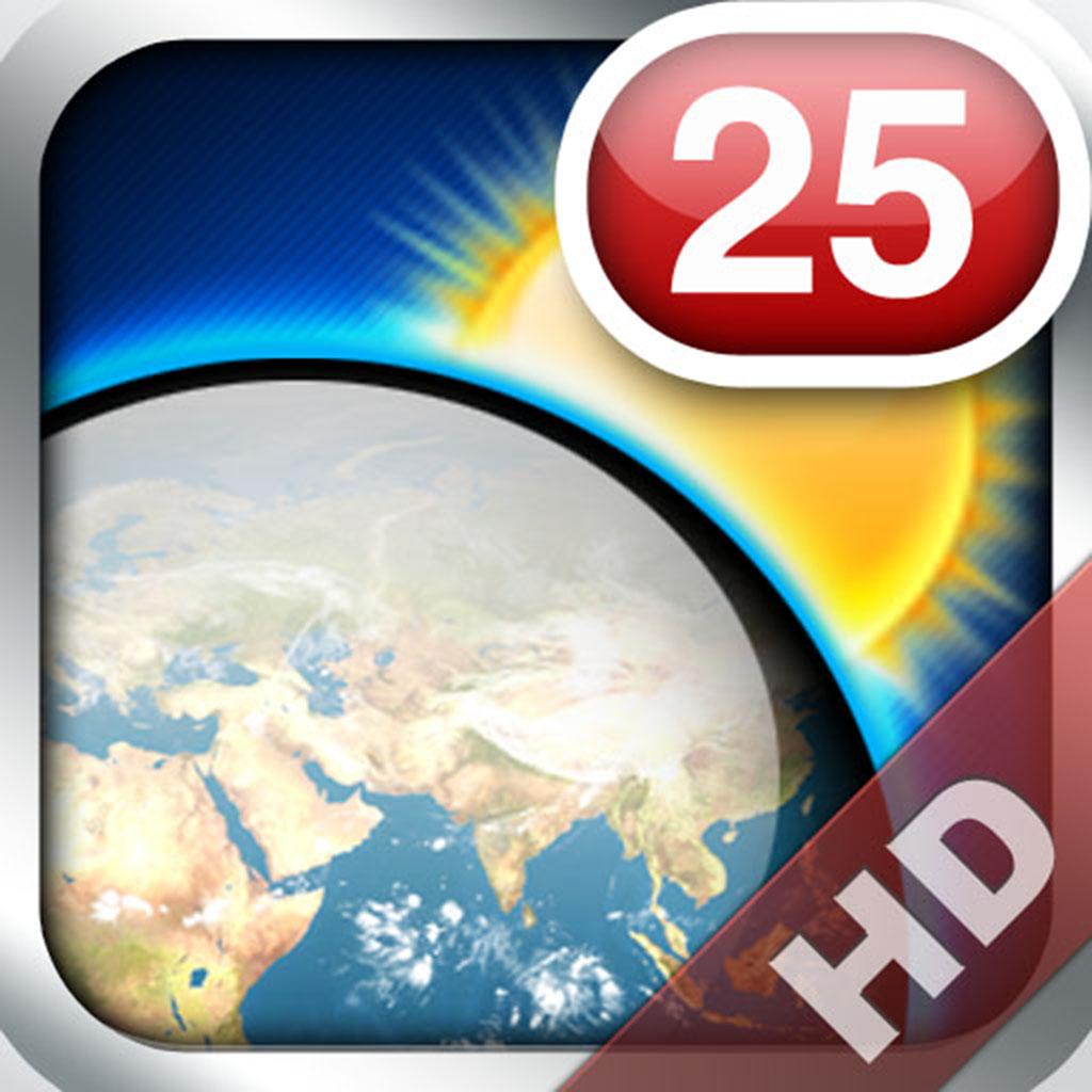 MegaWeather iPad edition