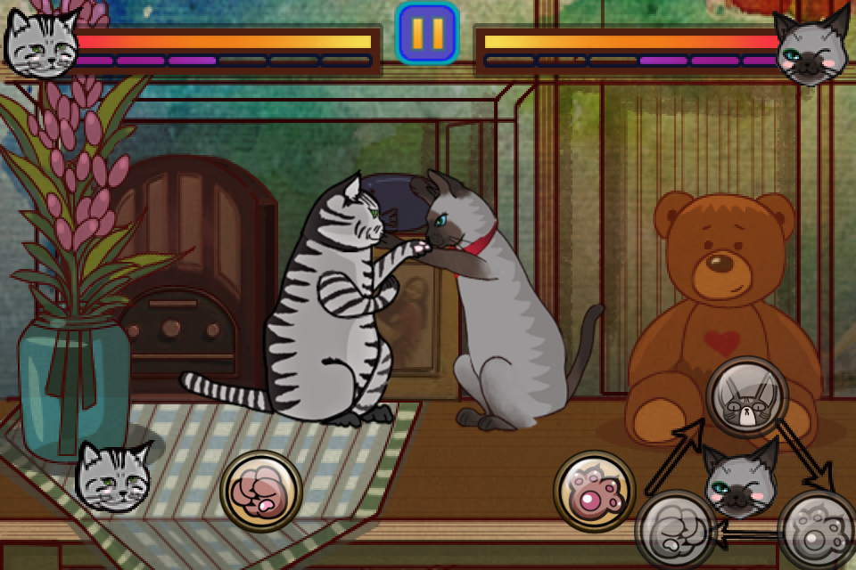 Screenshot Cat Fighter